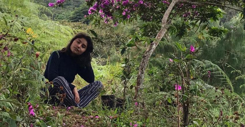 GARDALIA QUISPE GUILLERMO: Becaria del Pronabec busca evitar extinción de plantas medicinales en la región Junín
