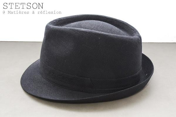 Soldes Chapeau femme lin noir