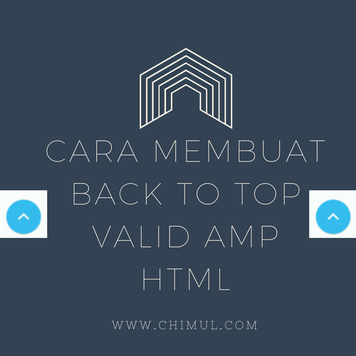 Navigasi, Back to Top, AMP HTML, AMP, HTML, Tutorial, Tombol