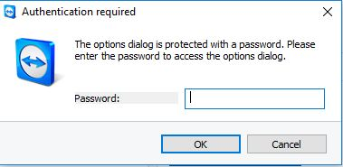 Daniel Cheah Blog: TeamViewer - Forgotten Option Password