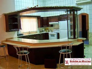 Open or Semi-open #Kitchens cum Serving/ #Dining Platform Spaces