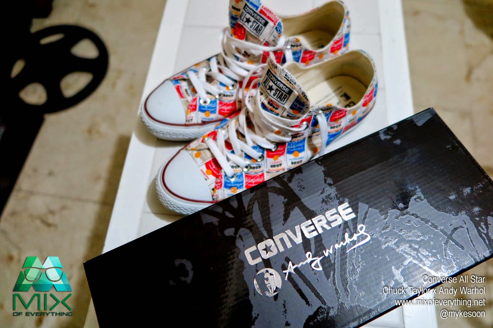 d4042d8963f0 My Converse Chuck Taylor x Andy Warhol - Hello! Welcome to my blog!