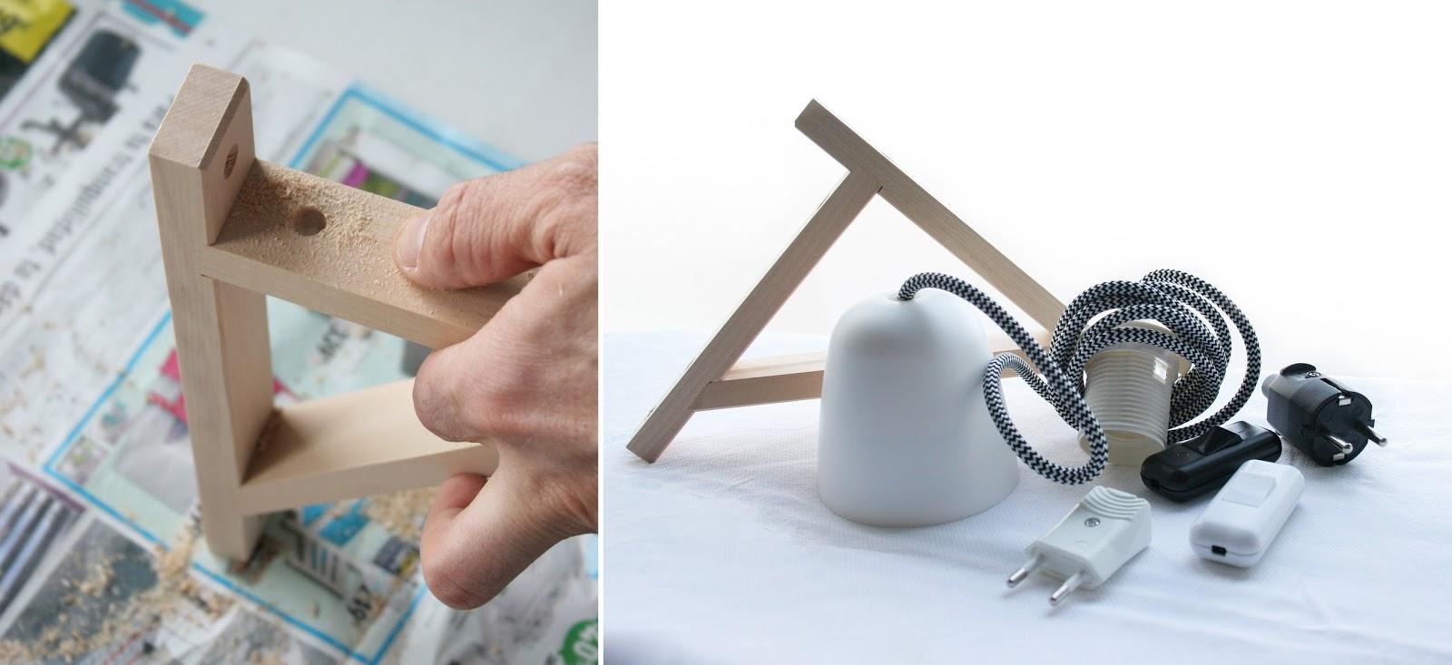 Reciclando con Ikea: Diy lámpara con botella de cristal5