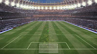 PES 2017 New Tottenham Hotspur Stadium Update by PES Mod