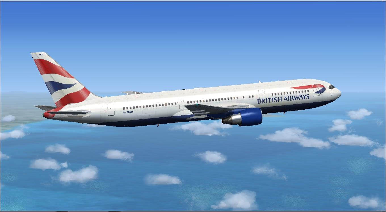 Download British Airways Project Opensky 767 | Waktu Bersimulasi