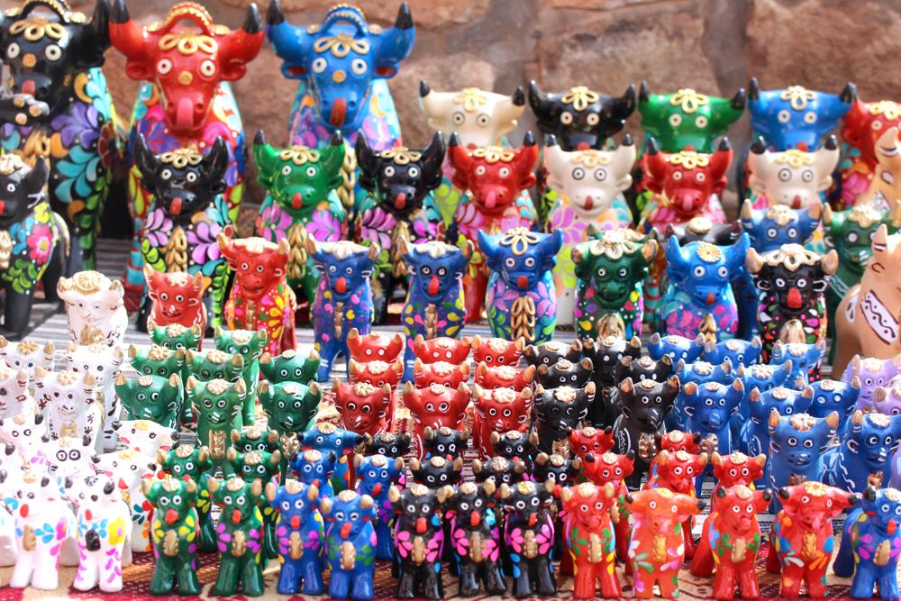 Torito de Pucara ceramic bulls, Peru - travel & culture blog