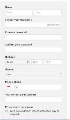 Cara Membuat Email Google, Gmail, Email Google