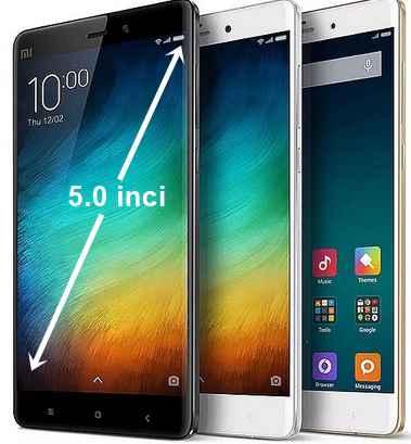 Hp Xiaomi Layar 5 inci - Trend Xiaomi