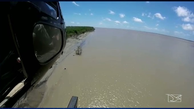 Barco naufraga no litoral do MA e duas pessoas estão desaparecidas