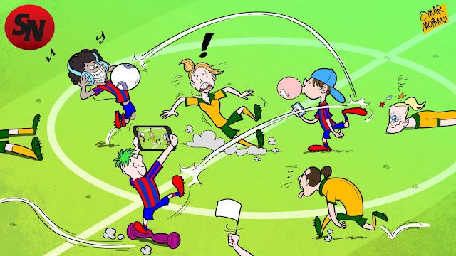 Newcastle Jets U15 boys thrash Matildas