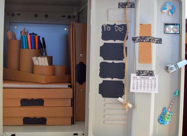 Organising a school locker