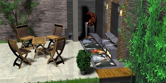 Desain Taman Rumah Minimalis Modern Masa Kini