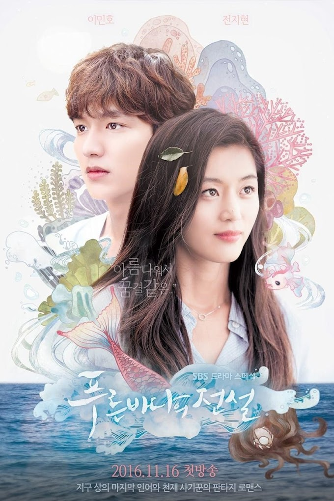 SINOPSIS The Legend of the Blue Sea Lengkap Episode 1-20 Terakhir (Drama Korea SBS 2016-2017)