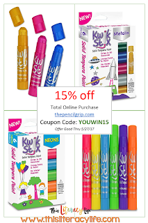 15% off coupon code at Kwik Stix