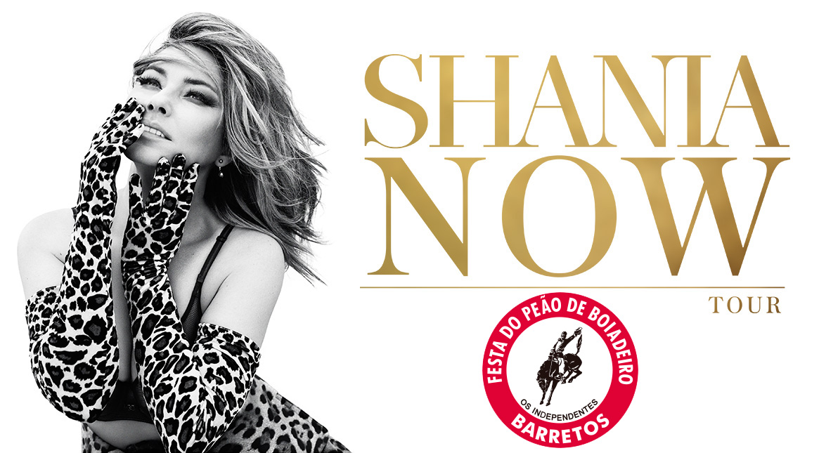 SHANIA TWAIN - TOP HITS DA CARREIRA E DO NOVO ALBUM NOW DE SETEMBRO DE 2017 - INGRESSOS A VENDA PELA www.totalacesso.com.br