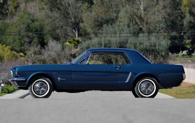 1965 Ford Mustang Prototype Side Left