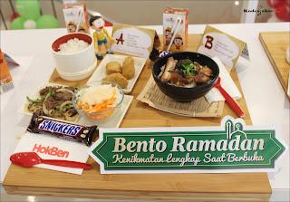 Paket Bento Ramadan A&B