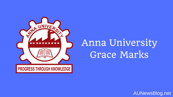 Anna University April May 2019 Exams Grace Marks Details