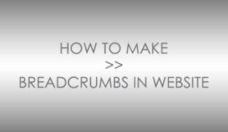 Cara Mudah Membuat Breadcrumbs Pada Blog