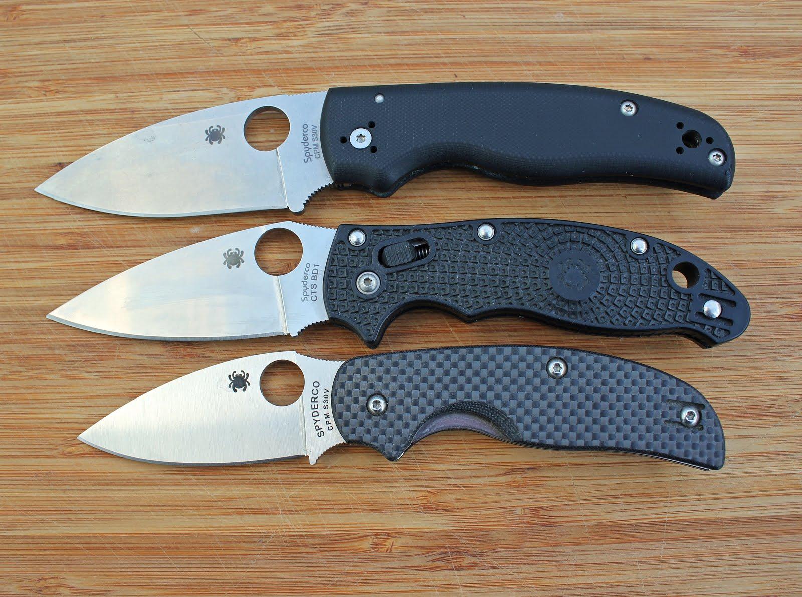 Knivigt värre: Knifereview Spyderco Shaman