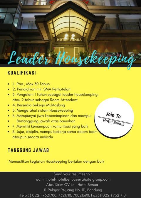 Lowongan Kerja Hotel Di Bandung Lowongan Kerja Terbaru Indonesia