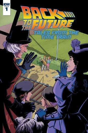 Portada del cómic 'Back to the Future. Tales from the Time Train'
