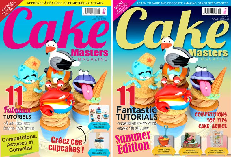 Cake Masters Magazine Août 2018
