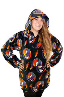 Grateful Dead Steal Your Face Baja Hoodie