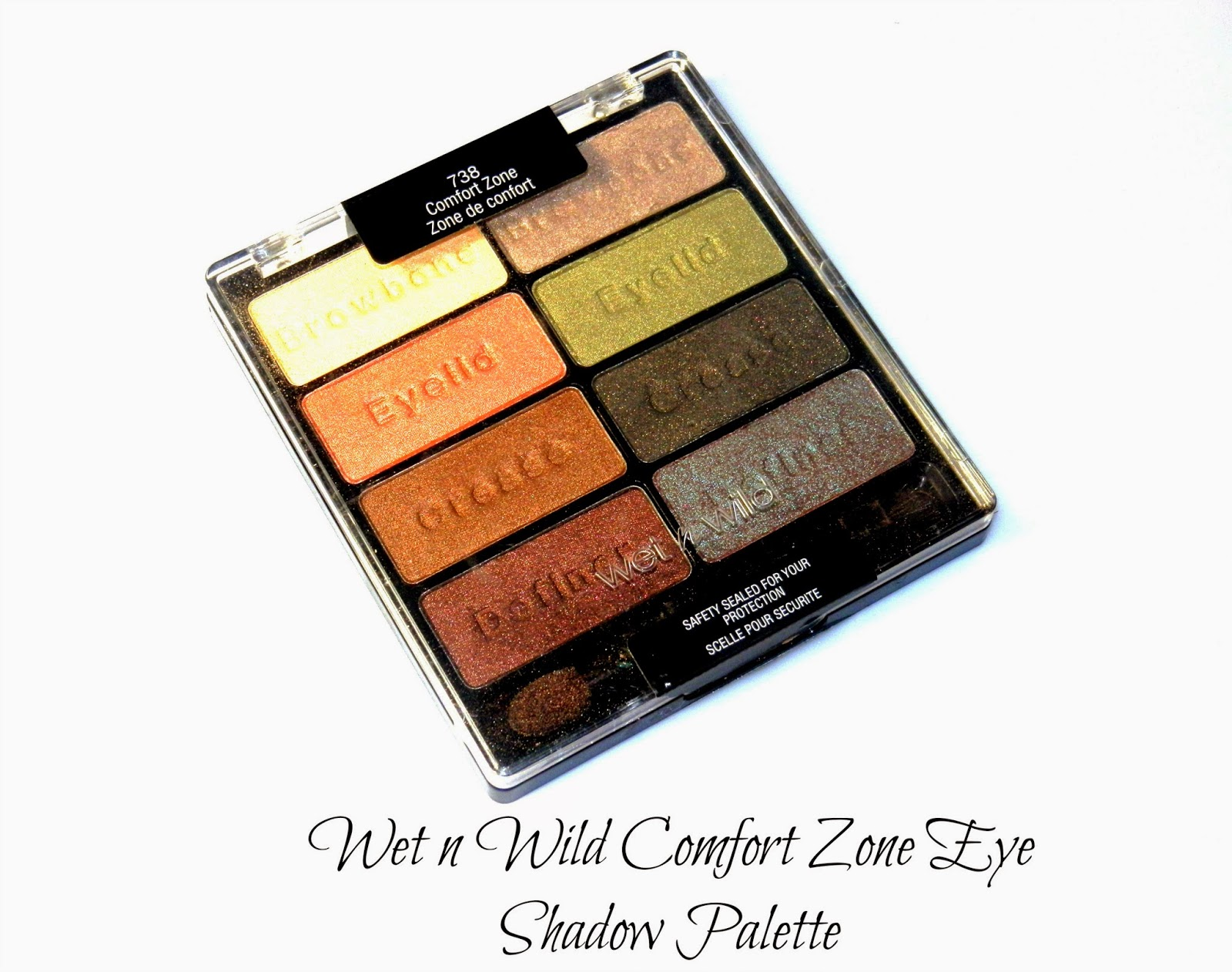 Wet n Wild Comfort Zone Eye Shadow Palette Swatches