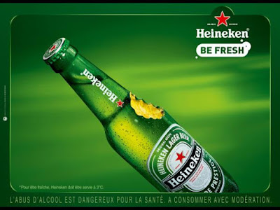 Heineken beer: One of the poorest beers in the world but a good promotion has made it famous than any Belgium beer.