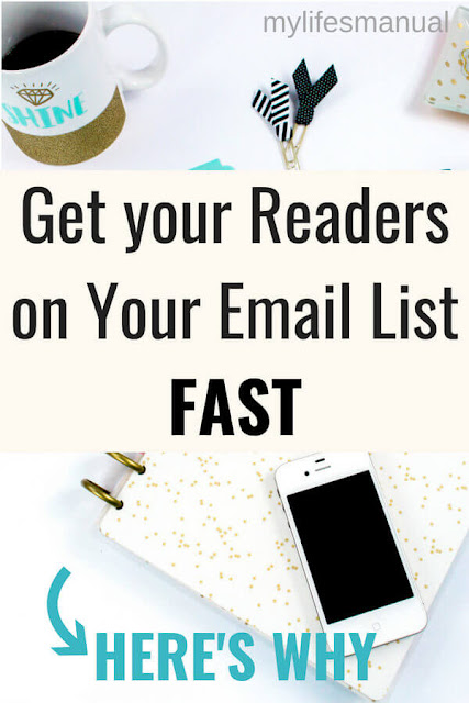 Grow your email list fast. 3 reasons why.