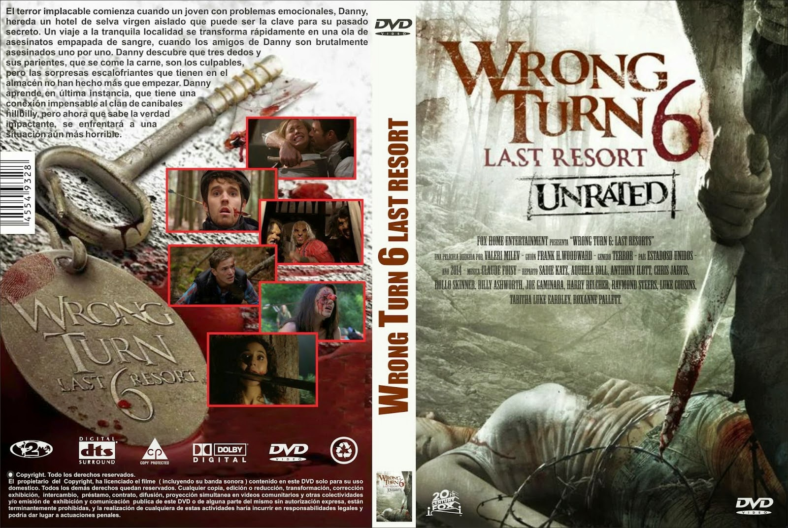 wrong turn 6 deutsch