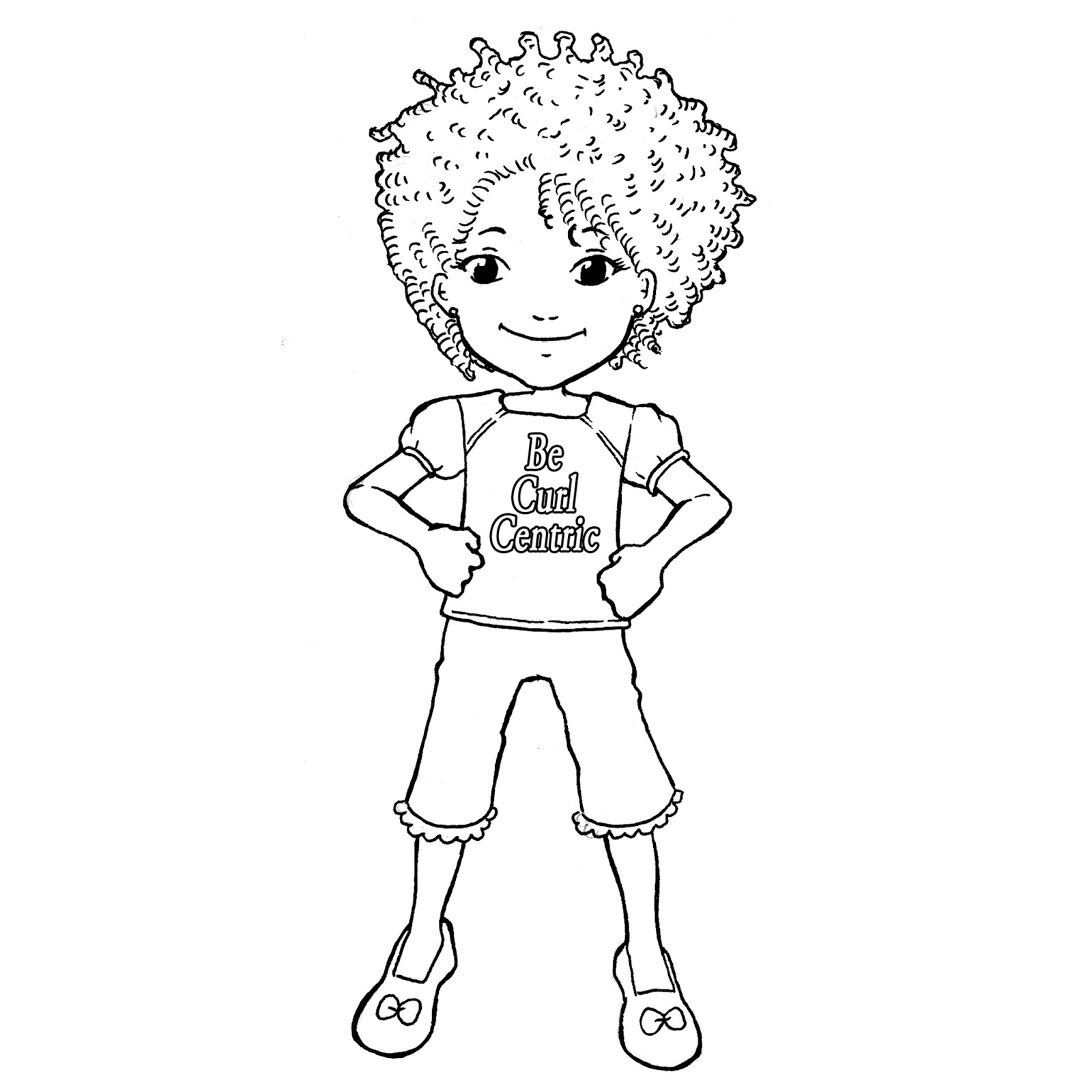 Natural Hair | Introducing the Curly Kids Coloring Book ...