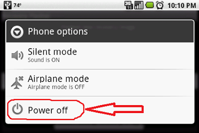 Mobile Power Off