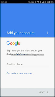 Cara Masuk Akun Google Dan Mengaktifkan Playstore