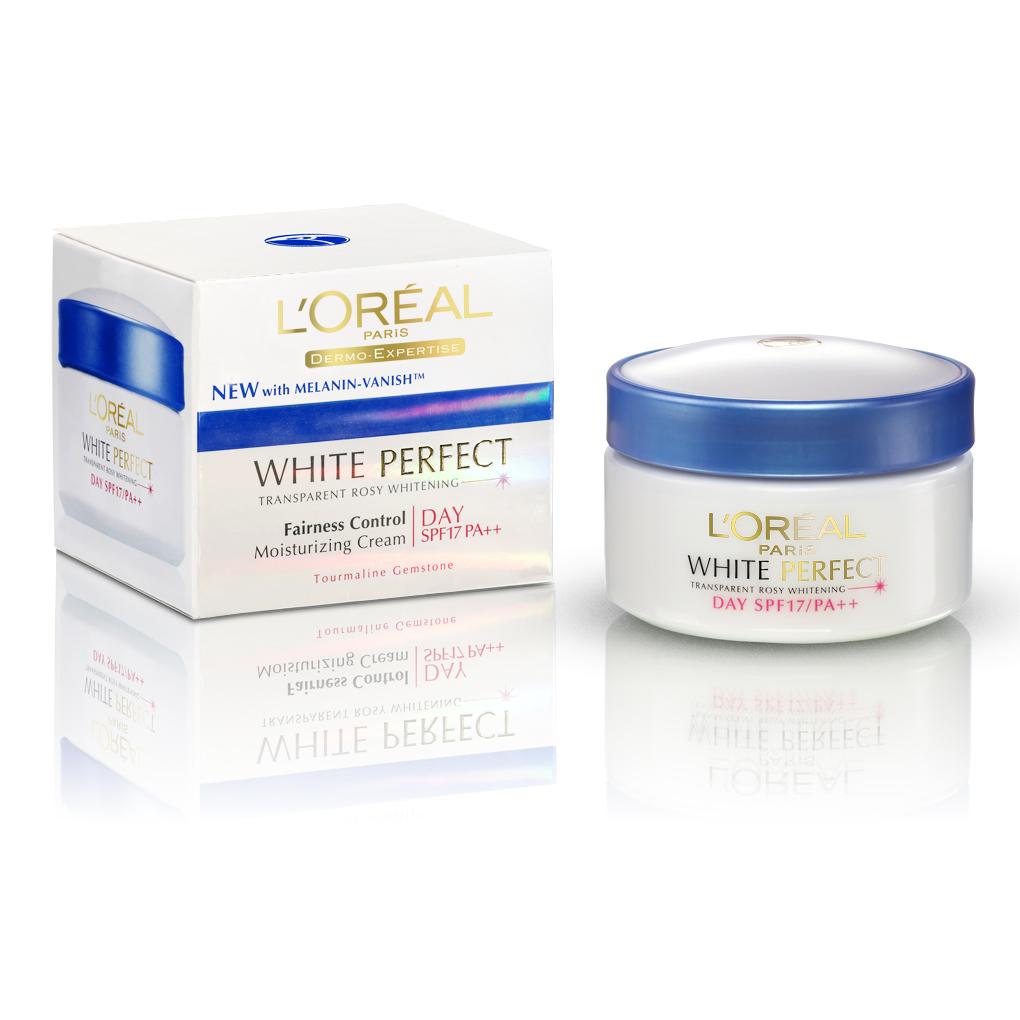 Deoonard 7 Days Whitening Cream Krim Pemutih Wajah: The Power Of Beauty: L'oreal White Perfect (With Melanin