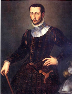 A portrait of Francesco I by Agnolo di Cosimo, the Florentine artist better known as Bronzino