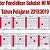 Kalender Pendidikan Sekolah MI MTs MA Tahun Pelajaran 2018/2019 - Suka Madrasah