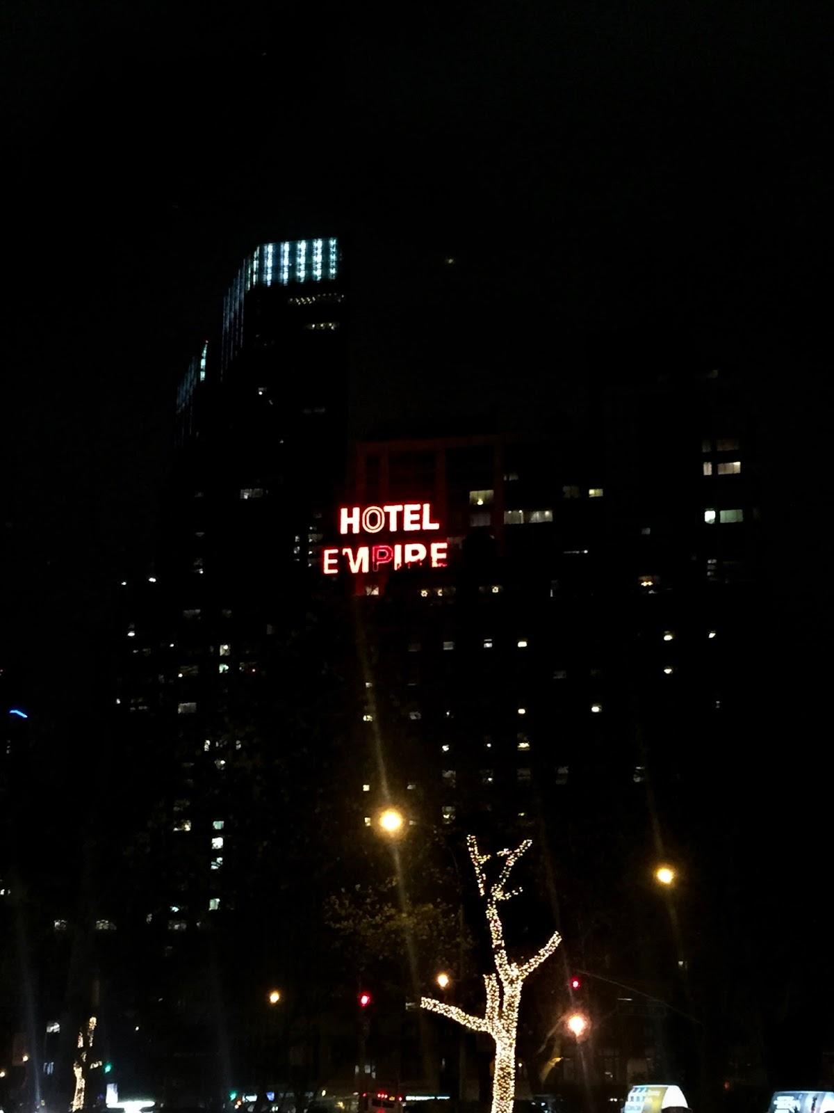 Empire Hotel Upper West Side Gossip Girl Chuck Bass