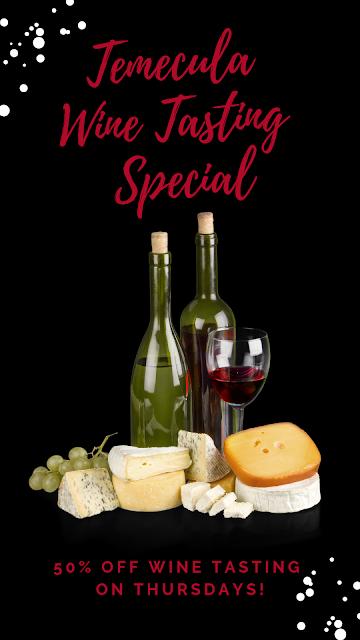 Temecula Wine Tasting Special