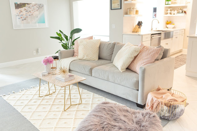 Brand New Living Room Reveal by The Celebration Stylist