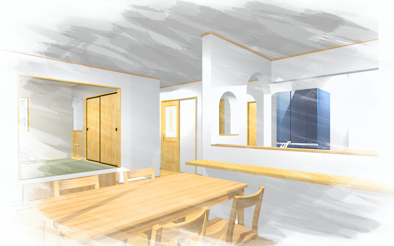 完成見学会 鈴鹿市 自然素材の注文住宅 全館空調の家 みのや