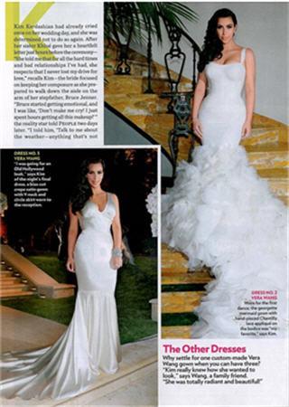 Wedding Photos Kim Kardashian