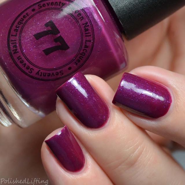 wine creme nail polish