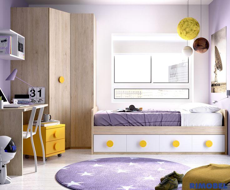 Blog dormitorios juveniles com armarios de rinc n para - Armario bajo cama ...