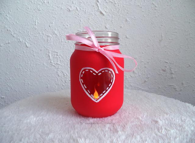 DIY Heart Jar for Valentine's Day | DIY Valentine's Day Room Decor