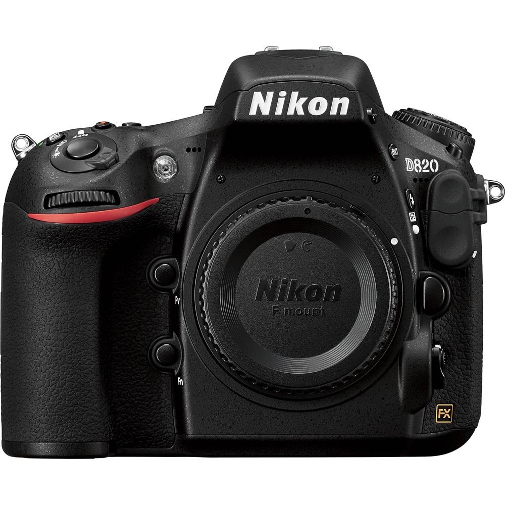 Предполагаемый внешний вид Nikon D820