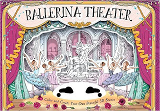 Ballerina Theater: Color and Create Your Own Beautiful 3D Scenes