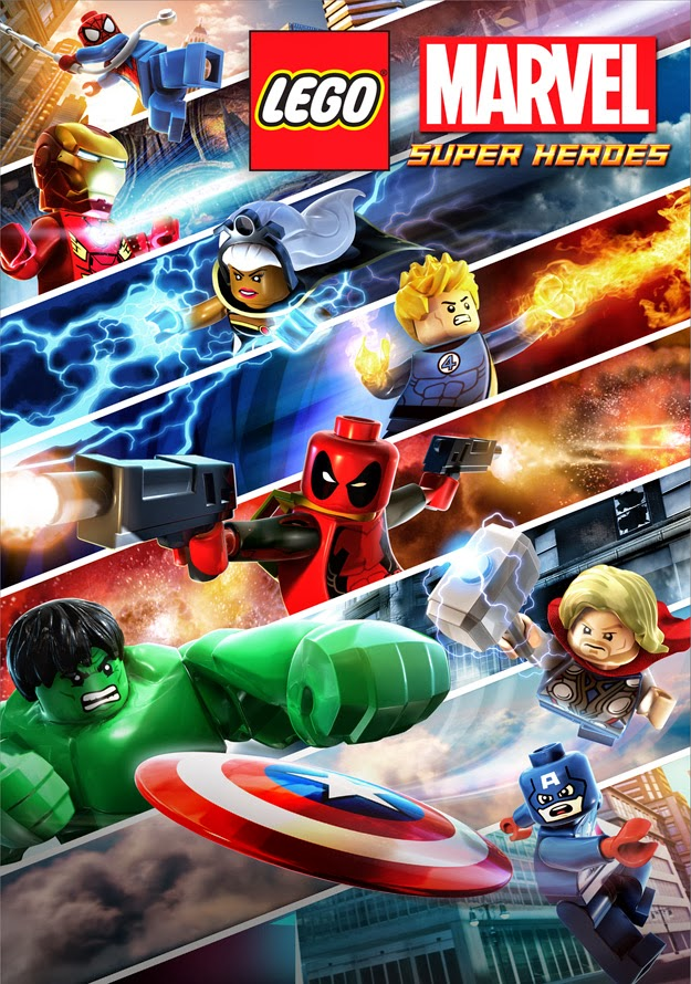 The Crusaders Realm Lego Marvel Super Heroes New Game Poster