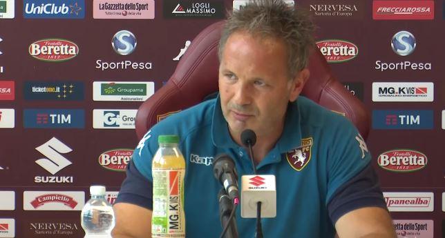 Sinisa Mihallovic presenta in conferenza stampa Benevento Torino
